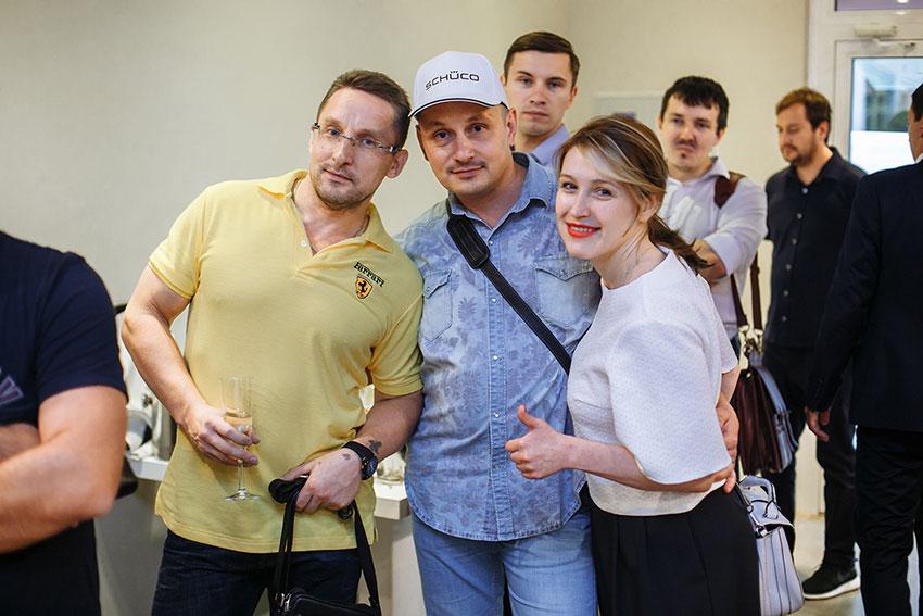 Открытие шоу-рума Schuco