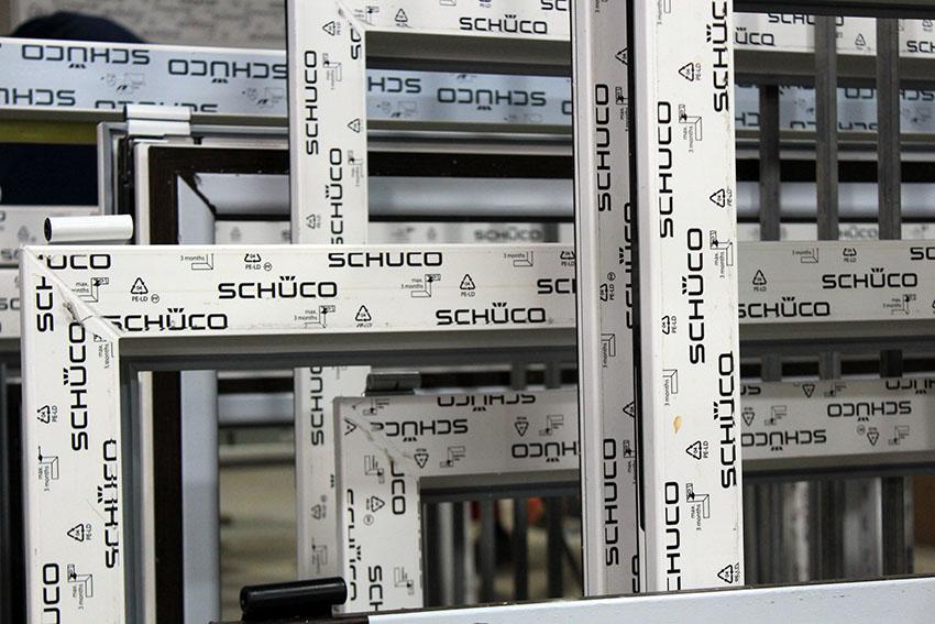 Особенности оконных систем Schuco