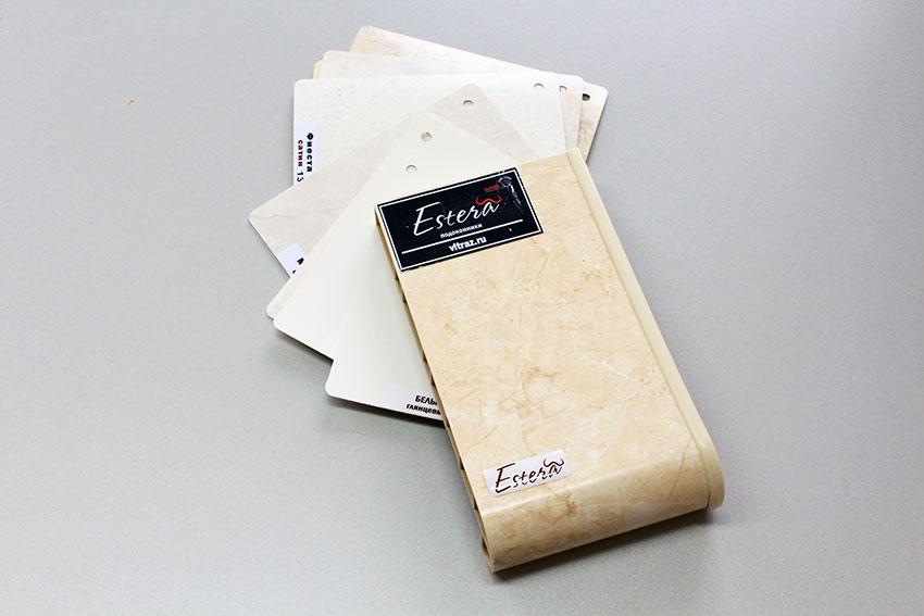Скидка 35% на подоконники Estera