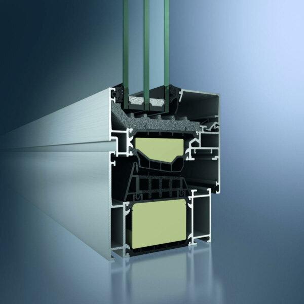 Алюминиевые окна Schüco в профиле AWS 90.SI+