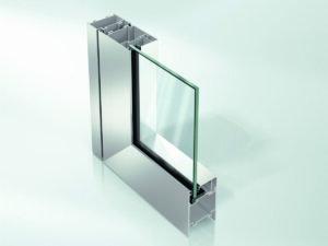 Алюминиевая дверь Schüco ADS 65.NI без теплоизоляции