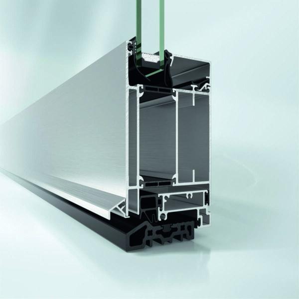 Алюминиевая дверная система Schüco ADS 65