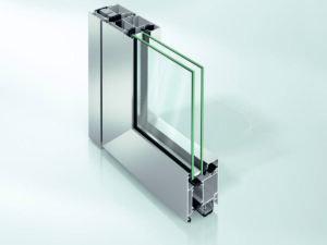 Дверь Schüco ADS 70 HD в алюминиевом профиле