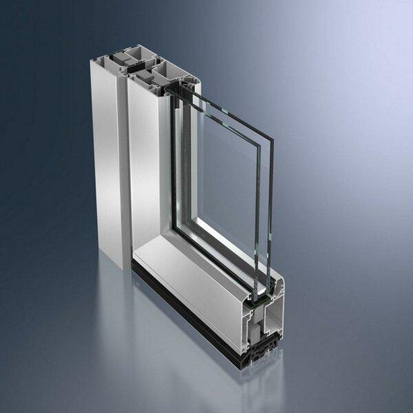 Алюминиевые двери Schüco ADS 70 RL.HI