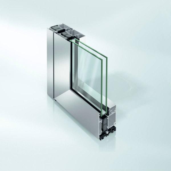 Алюминиевая дверь Schüco ADS 75 HD.HI