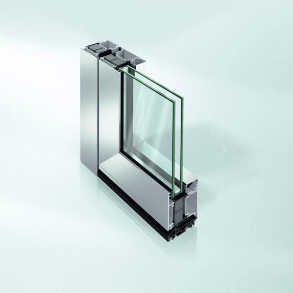 Дверная алюминиевая система Schüco ADS 75.SI