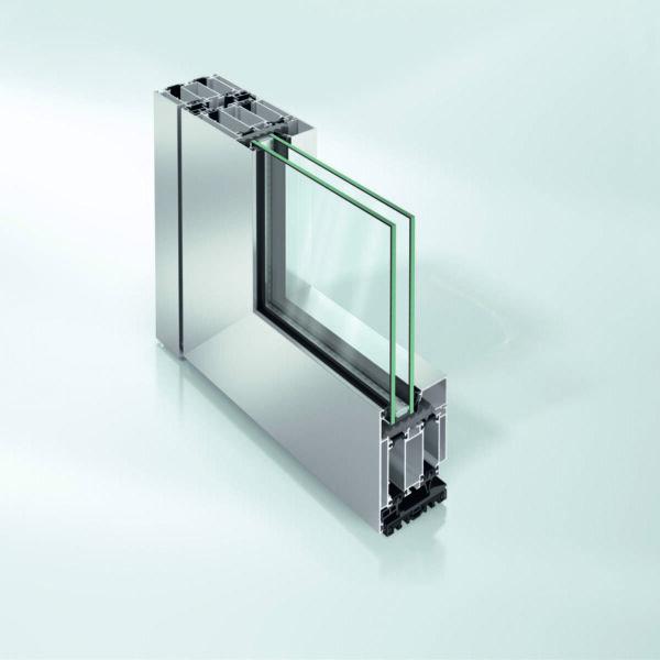 Алюминиевые двери Schüco ADS 75 SimplySmart