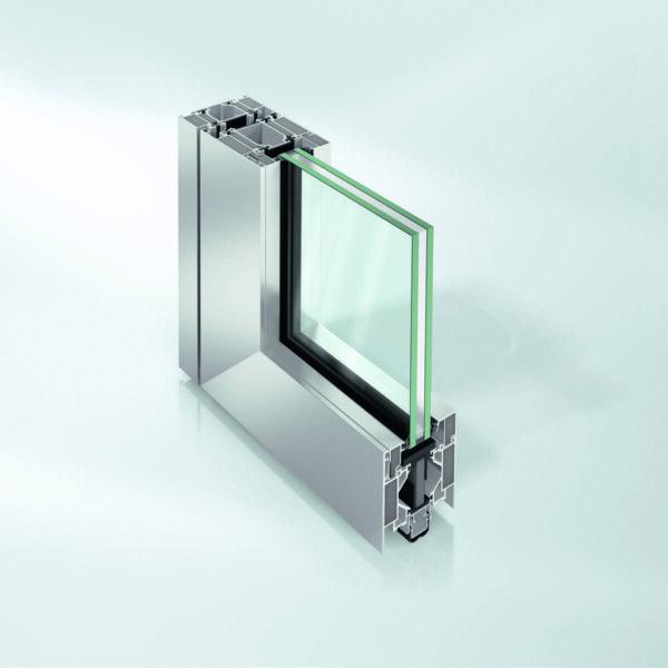 Дверь Schüco ADS 80 FR 60 с пределом огнестойкости 60 минут
