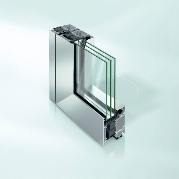 Алюминиевые двери Schüco ADS 90.SI