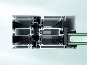 Алюминиевые двери Schüco ADS 90 SimplySmart