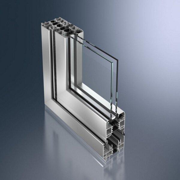 """Складные раздвижные окна (тип """"гармошка"""") ASS-70 FD"""