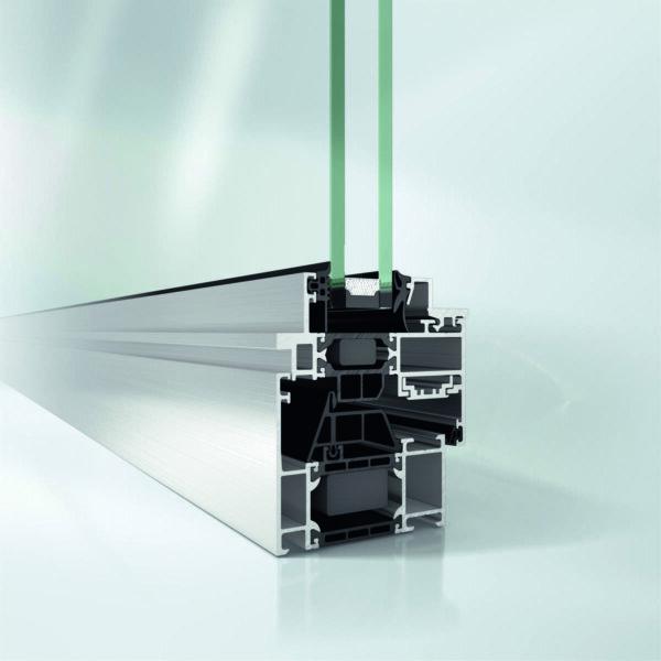 Алюминиевые окна Schüco AWS 70 ST.HI