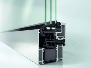 Алюминиевые окна Schüco из серии AWS 75 BS.SI+