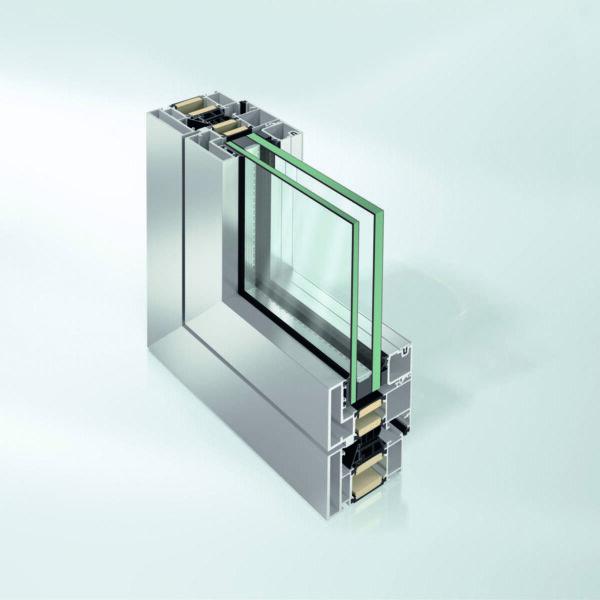 Взрывоустойчивая оконная система Schüco AWS 90 XR