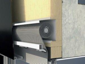 Встраиваемая в фасад для модернизации ERC 50 солнцезащита Schüco СТВ