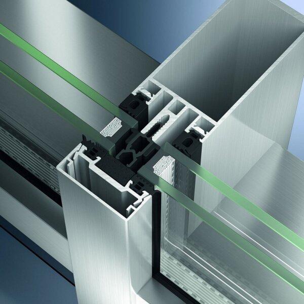 Schüco FW 50+ – стоечно-ригельная фасадная система с повышенной теплоизоляцией