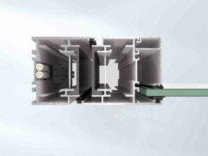 Дымозащитная система Schüco FireStop ADS 76. NI SP