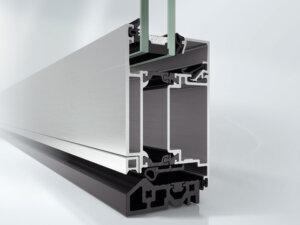 Алюминиевая дверная система Schüco ADS 60