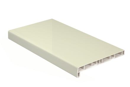 Подоконник Crystallit 121 Кремовый глянец