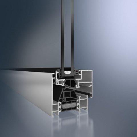 Алюминиевые окна Schüco AWS 70 BS.HI
