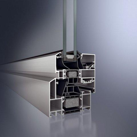 Алюминиевые окна Schüco AWS 70 RL.HI