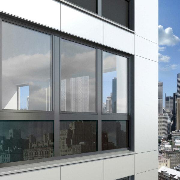 Алюминиевые окна Schüco AWS 90.SI+ Green