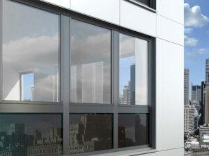 Инновационные алюминиевые окна Schüco AWS 90 BS.SI+